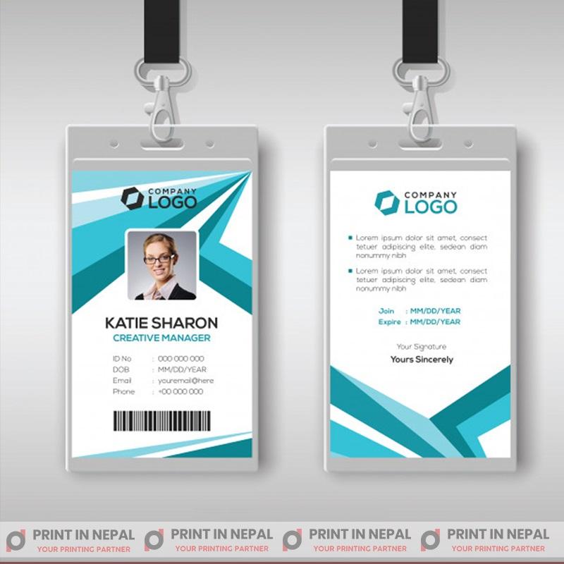 Gloss Finish ID Cards